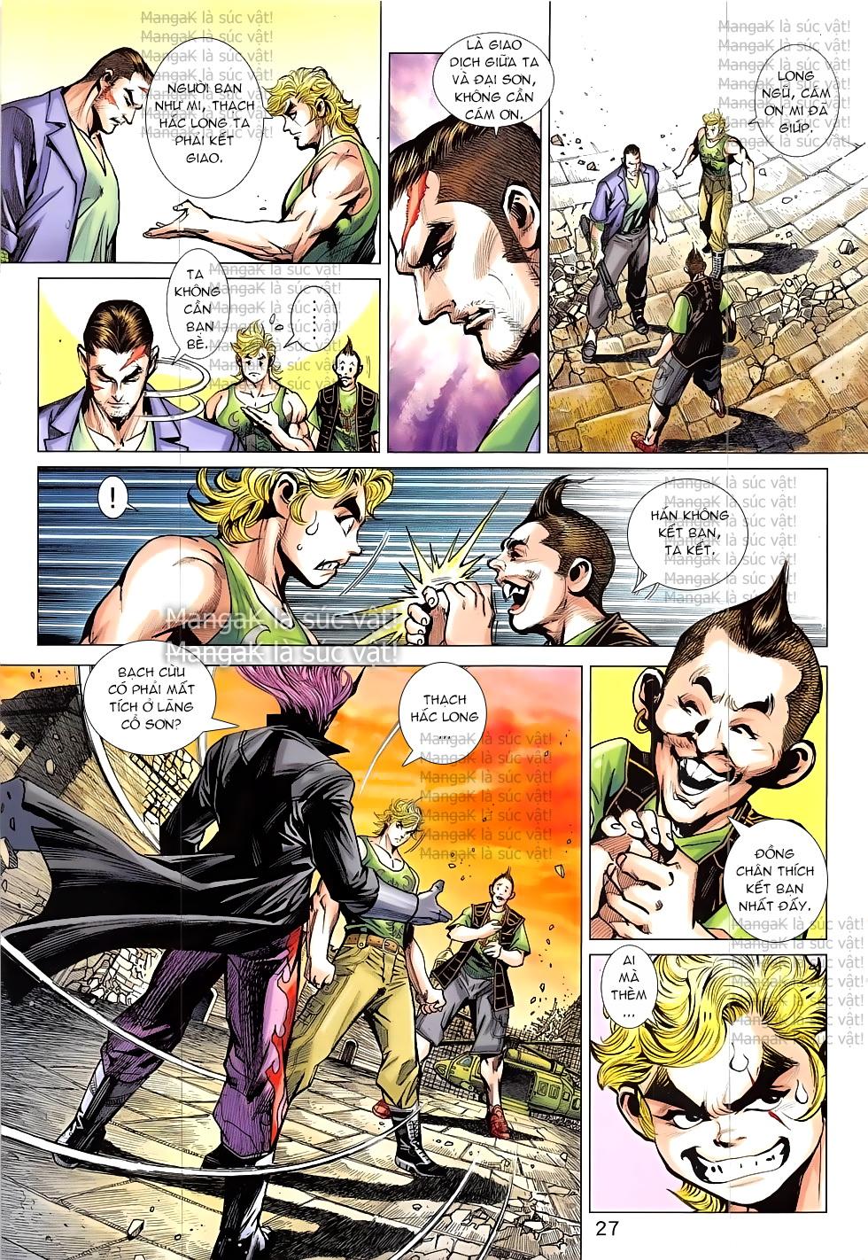 Tân Tác Long Hổ Môn Chap 824 page 27 - Truyentranhaz.net