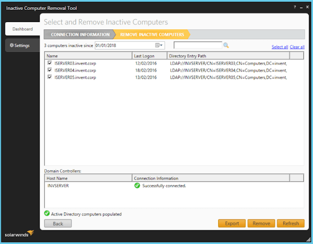 Solarwinds Free Admin Bundle for Active Directory
