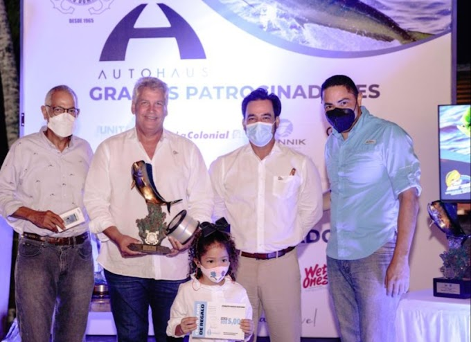 Jesús Soto y lancha Mi Gorda ganan torneo pesca El Dorado