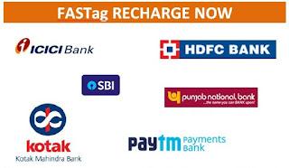 fasttag-recharge-online, fasttag