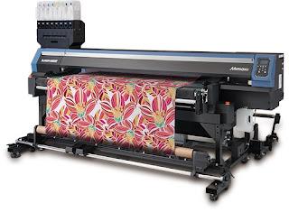 Yeni Mimaki TX300P-1800B baskı makinesi piyasaya çıktı.