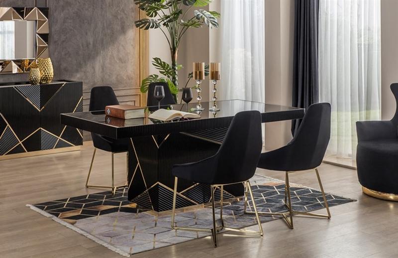 Tasarımlarıyla Dekorasyona Güç Katan Yemek Masası Önerileri