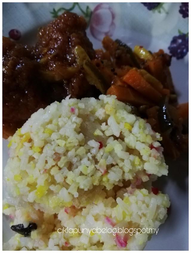 Resepi nasi minyak simple, khas untuk mereka yang pertama kali buat. Senang dan sedap!