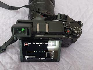 Panasonic Lumix GX9 screen