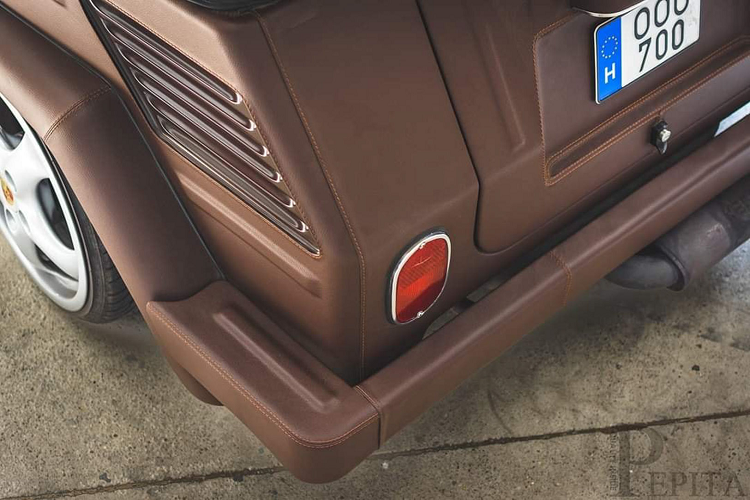 Ngắm Volkswagen Type 181 bọc da lập dị nhất thế giới