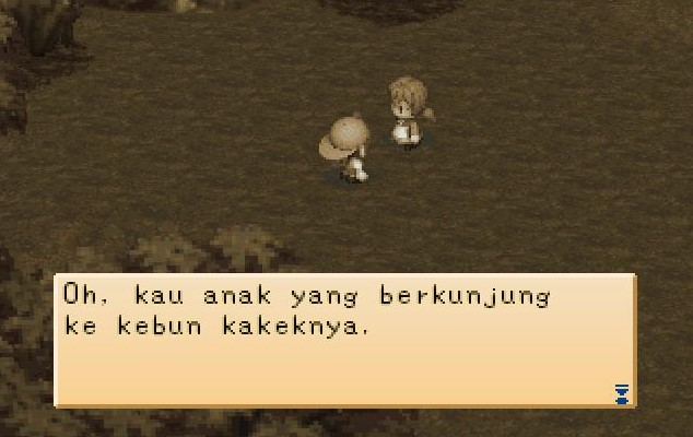 Masa kecil harvest moon back to nature