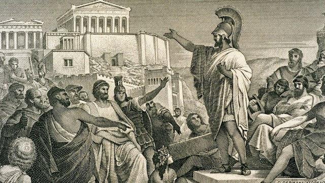 Κορνήλιος Καστοριάδης: Σύγκριση της δημοκρατίας των Αθηναίων με τη νεότερη αντίληψη