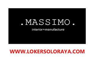 Lowongan Kerja Solo Desainer Interior di Massimo