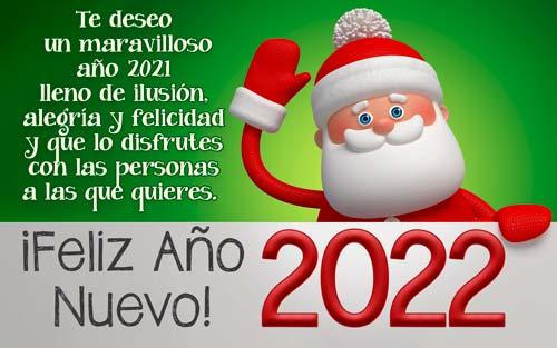 fondo de pantalla con mensajes ano nuevo 2022