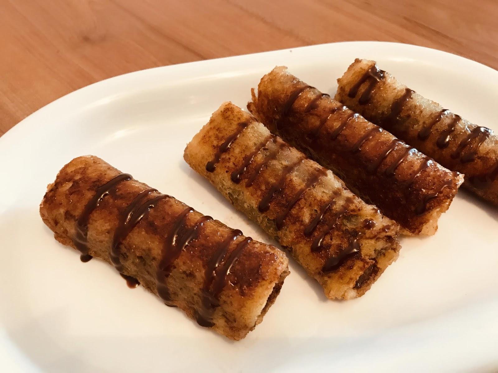 Pain Perdu Au Nutella mes recettes rapides: pain perdu au pain de mie banane chocolat