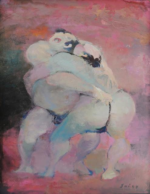 Francesc Suñer pintura expresionista óleo sumo