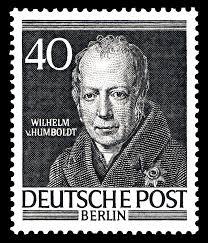 Resultado de imagem para selo de WILHELM VON HUMBOLDT