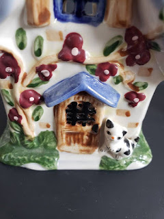 Elements Village House And Lighthouse ceramic figurines