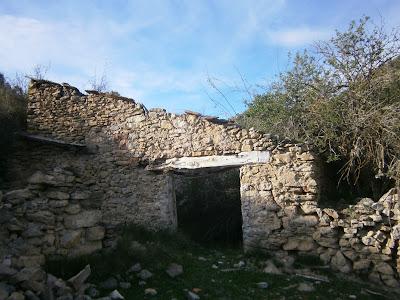 Estado actual de las edificaciones del Molino de Canalejas, Campillos Sierra