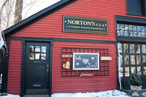 Norton's U.S.A. is a general store only selling made in U.S.A. products.