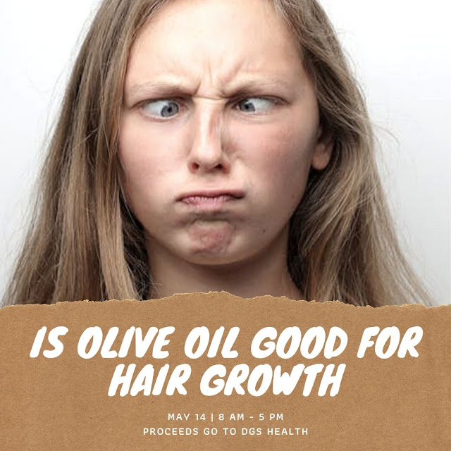 olive oil for healthy scalp