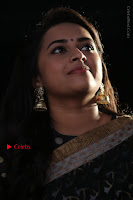 Actress Sri Divya Latest Pos in Black Saree at Sangili Bungili Kathava Thora Tamil Movie Audio Launch  0007.jpg