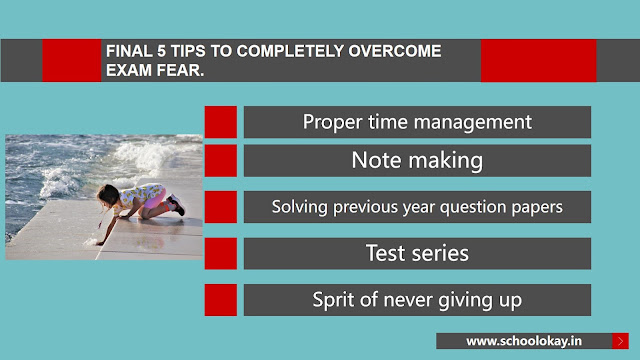 5 TIPS TO COMPLETELY OVERCOME EXAM FEAR