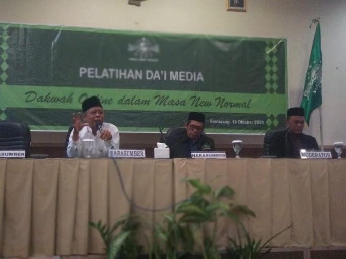 PWNU Jateng Ajak Maksimalkan Potensi Dakwah Aswaja di Media
