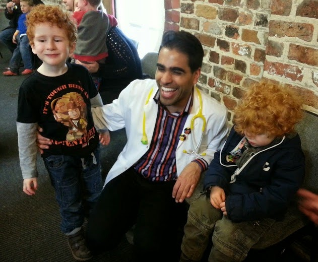 Dr Ranj meet and greet Little Fun Fest Red House Farm Chester CBBC Cbeebies