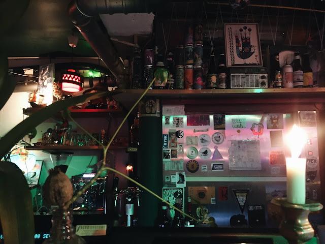 Bar på Hagabions cafe i Gøteborg