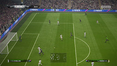 FIFA 19 Graphics Mod for PES 2019
