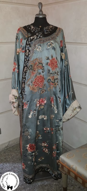 Valentina Cortese - Mostra Milano - Chinese kimono of the XIX century given by Franco Zeffirelli to Valentina