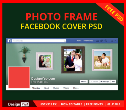 Picture Frame for Facebook Free