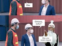 Humor Bahasa Pandemi Covid-19