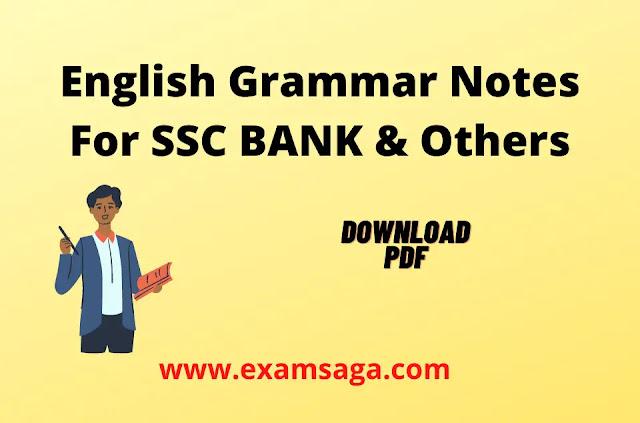 English Grammar-HandwritteN-Notes-Competitive-Exams-Pdf