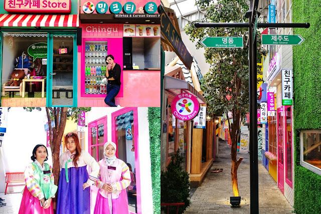 Pusat Belanja Kampung Korea