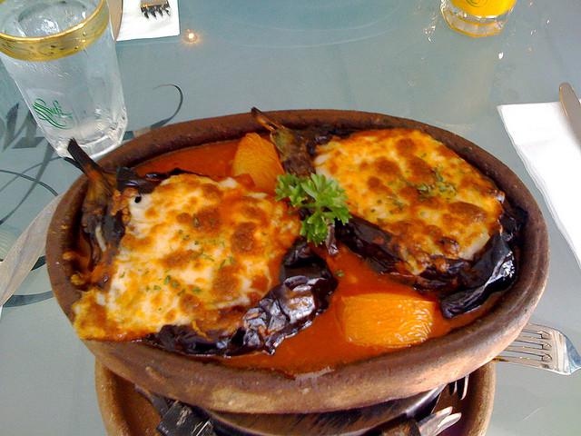 street food cuisine du monde recette de pur e d 39 aubergines la turque d lice du sultan. Black Bedroom Furniture Sets. Home Design Ideas