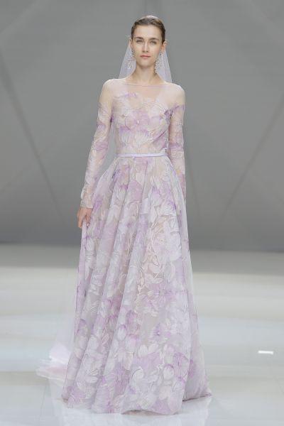 vestidos de novia de colores fotos