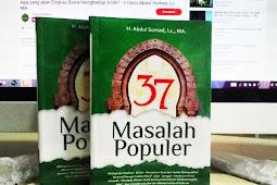 (Ebook) Ust. Abdul Somad - 37 Masalah Populer