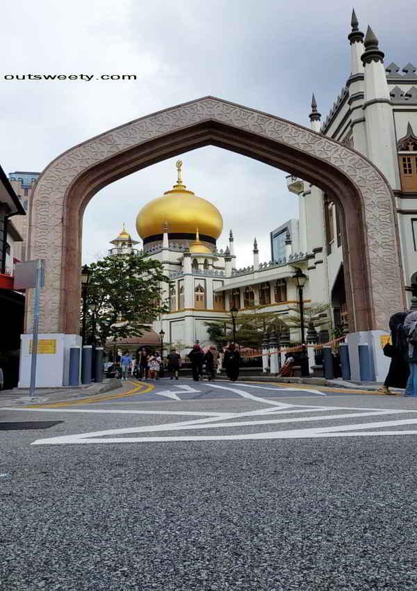 Traveling Singapura 4D3N (Kampung Glam dan Masjid Sultan)
