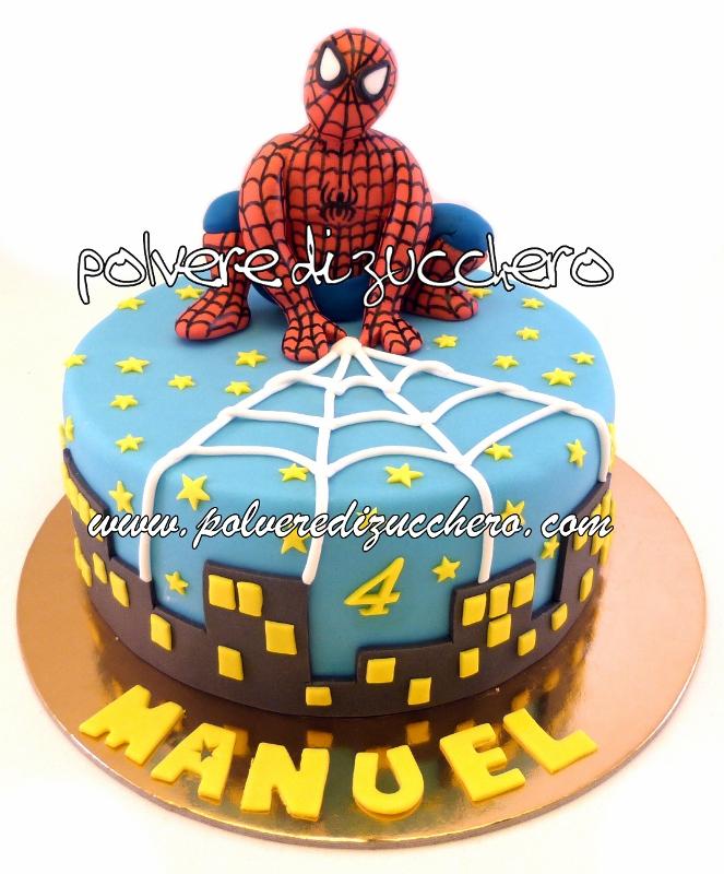 hanno ucciso l 39 uomo ragno torta spiderman polvere di On decorazione torte spiderman