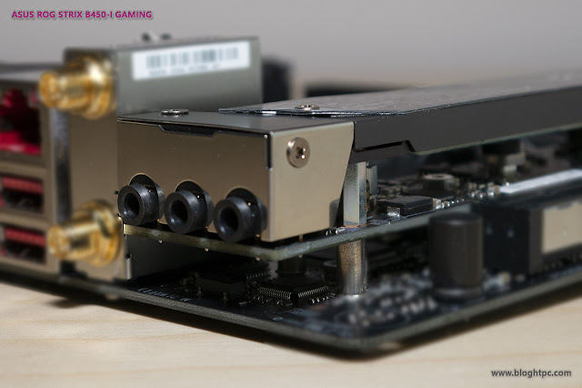 AUDIO ASUS ROG STRIX B450-i GAMING