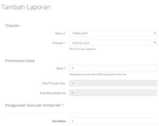 Cara Baru untuk Melaporkan Penggunaan Dana BOS Secara Online di www.bos.kemdikbud.go.id