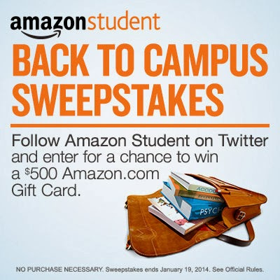 Amazon Student Back to Campus Sweepstakes