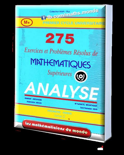 Livre Mathématique Supérieures Analyse