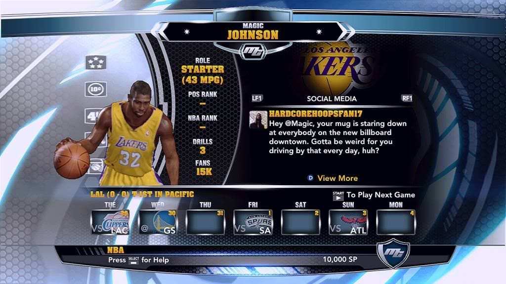 nba 2k14 Magic Johnson legend mycareer patch download hoopsvilla