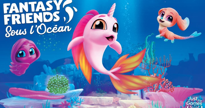 Discover the deep sea in Fantasy Friends: Under the Sea on September 24th, 2021!