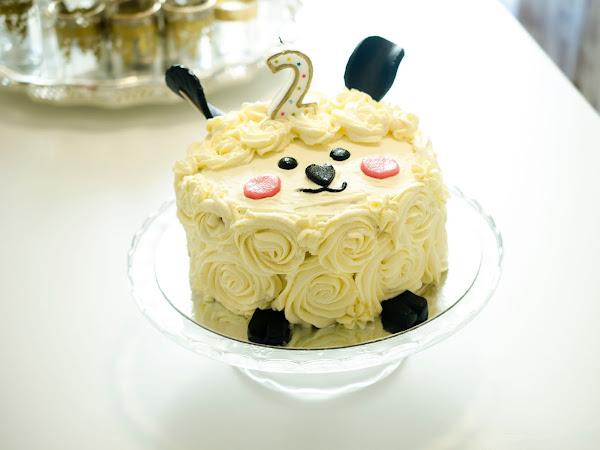 Neapolitan Birthday Cake