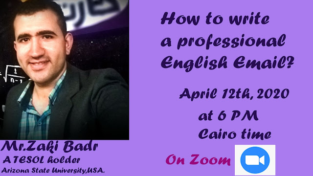 How to write a professional email today on Zoom 2020?