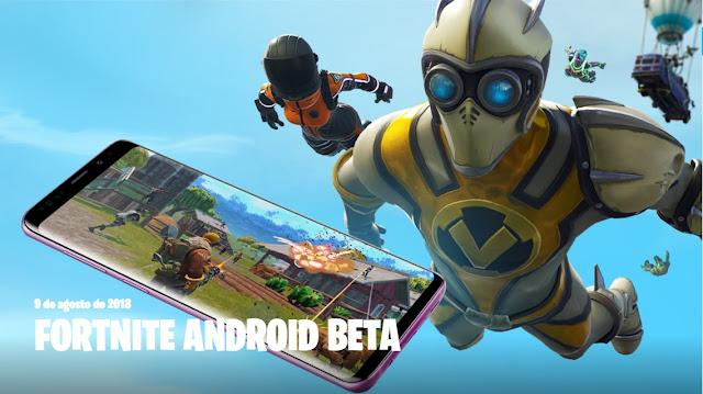 Ya es oficial Fortnite para android ya esta disponible !