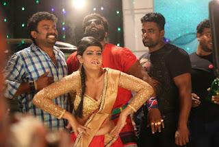 kanna pinna tamil movie item song making photos