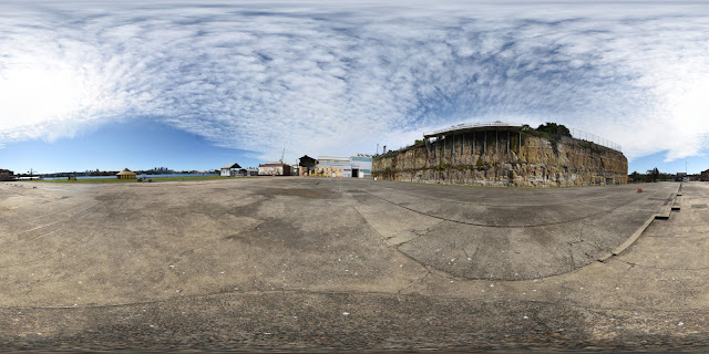 A High-Fidelity 360° Virtual Tour of Cockatoo Island, Sydney Harbour