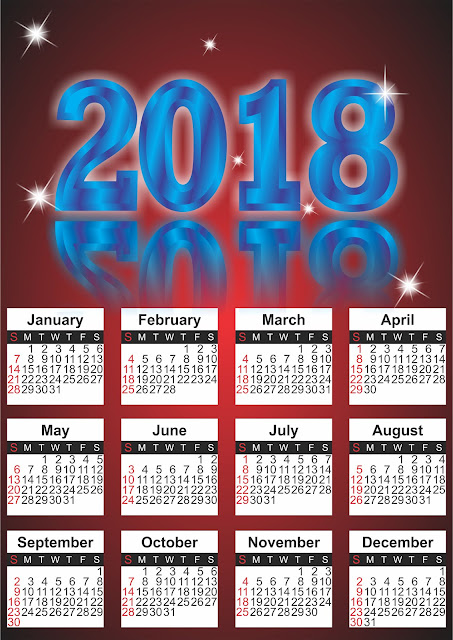 Coreldraw x7 Tutorial: How to Make Calendar Design with Text effect Best Tips
