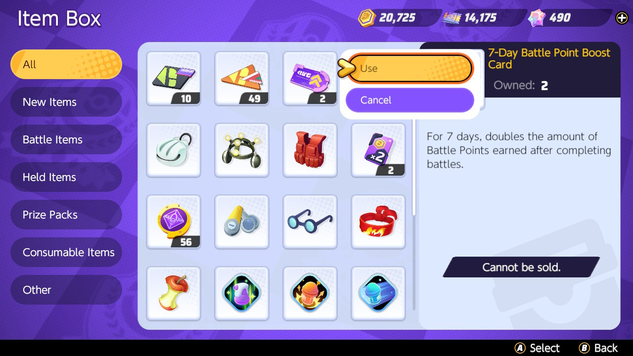 Buy coin multipliers and battle points