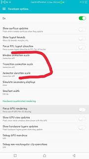 Android developer mode